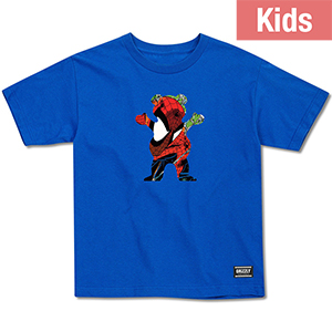 Grizzly X Spider-Man Kids T-Shirt Royal Blue