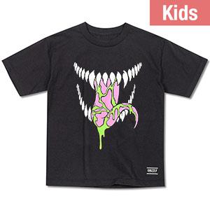 Grizzly X Venom Kids Grin T-Shirt Black