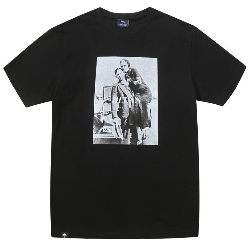 Helas Bonnie&Clyde T-Shirt Black