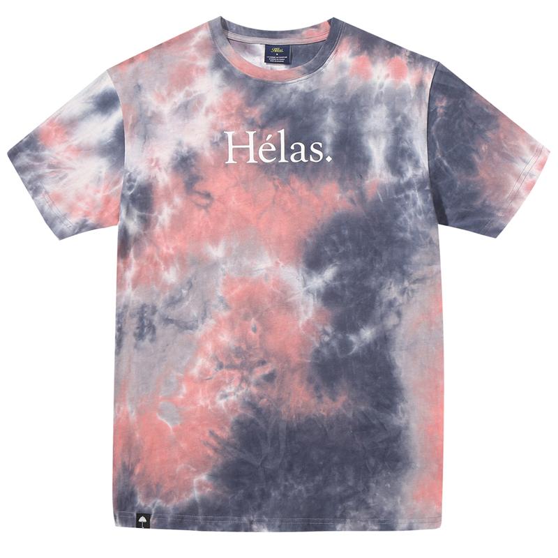 Helas Class Tie Dye T-Shirt Rusty
