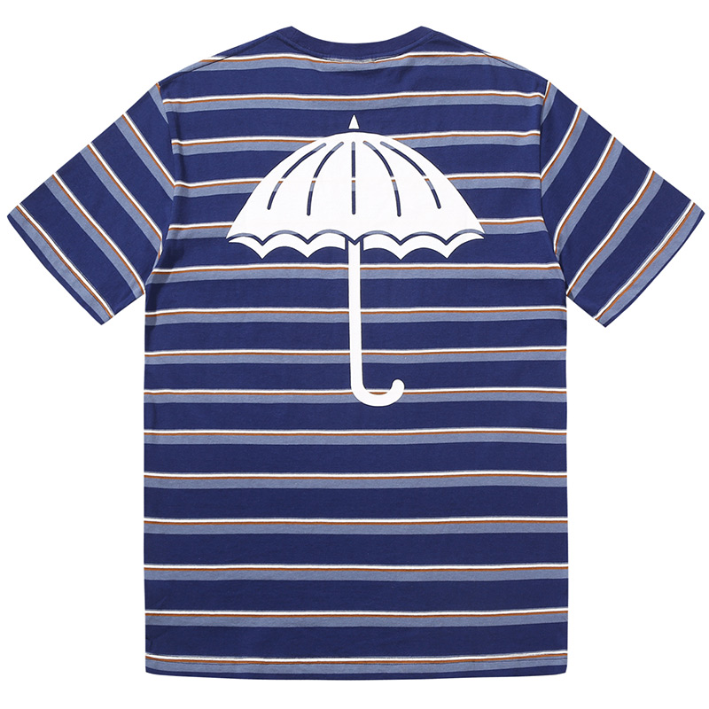 Helas Stripy UMB T-Shirt Navy