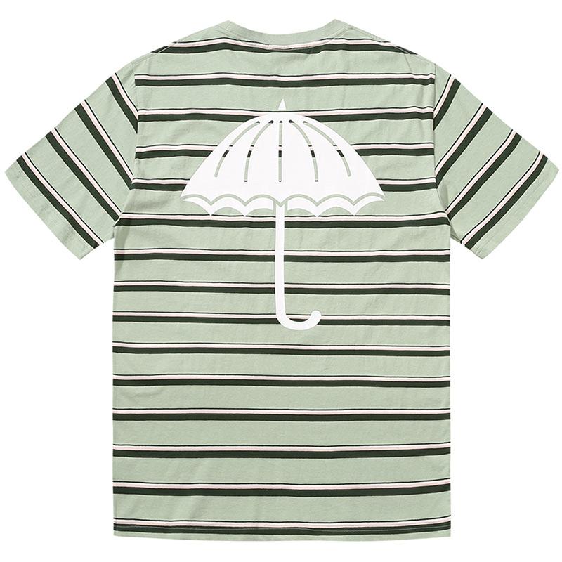Helas Stripy UMB T-Shirt Pastel Green