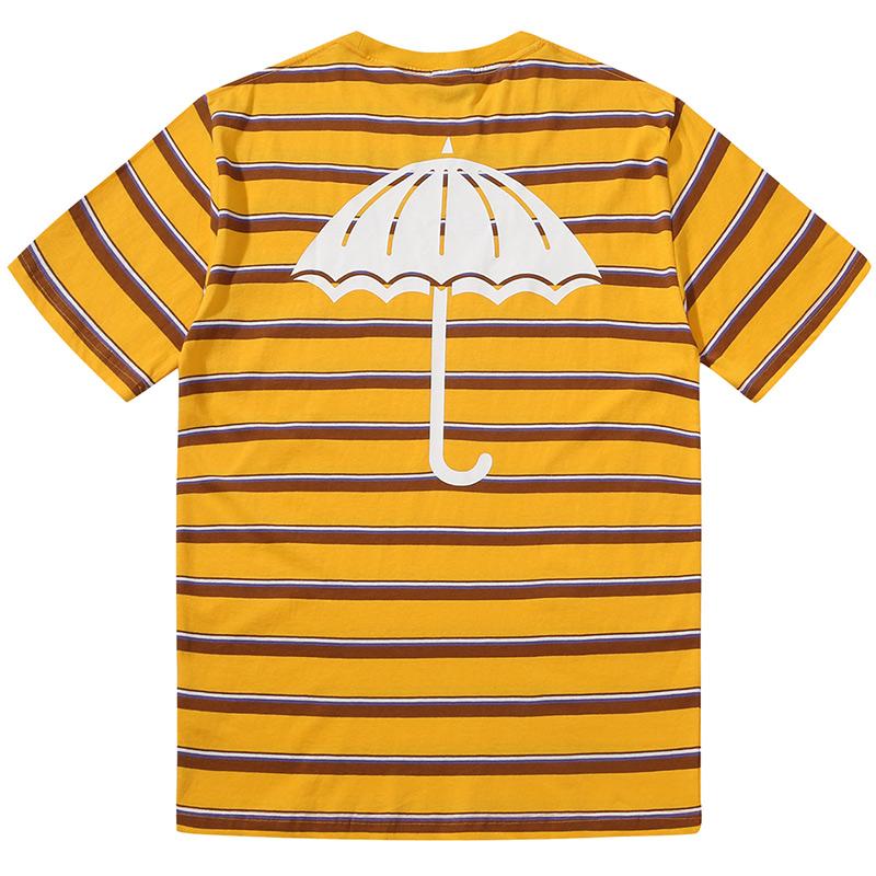 Helas Stripy UMB T-Shirt Yellow