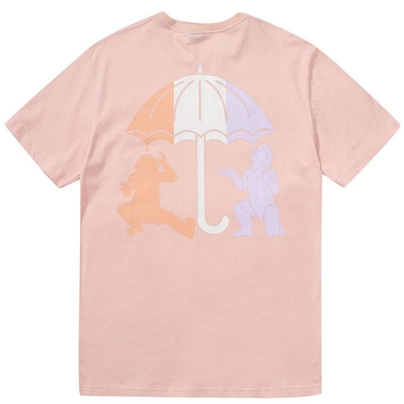 Helas Umb Twins T-Shirt Pastel Pink