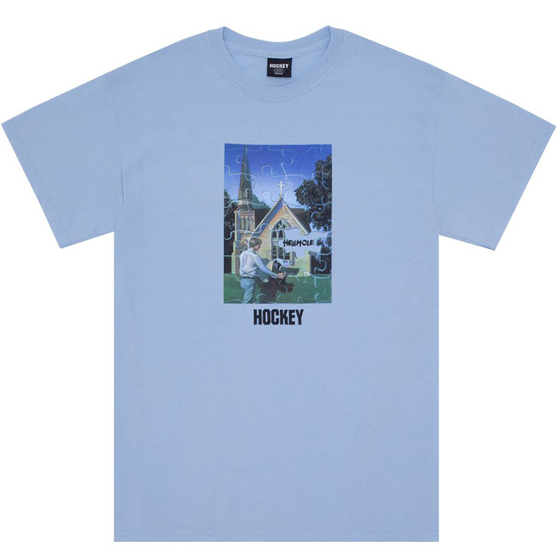 Hockey Hellhole T-Shirt Blue