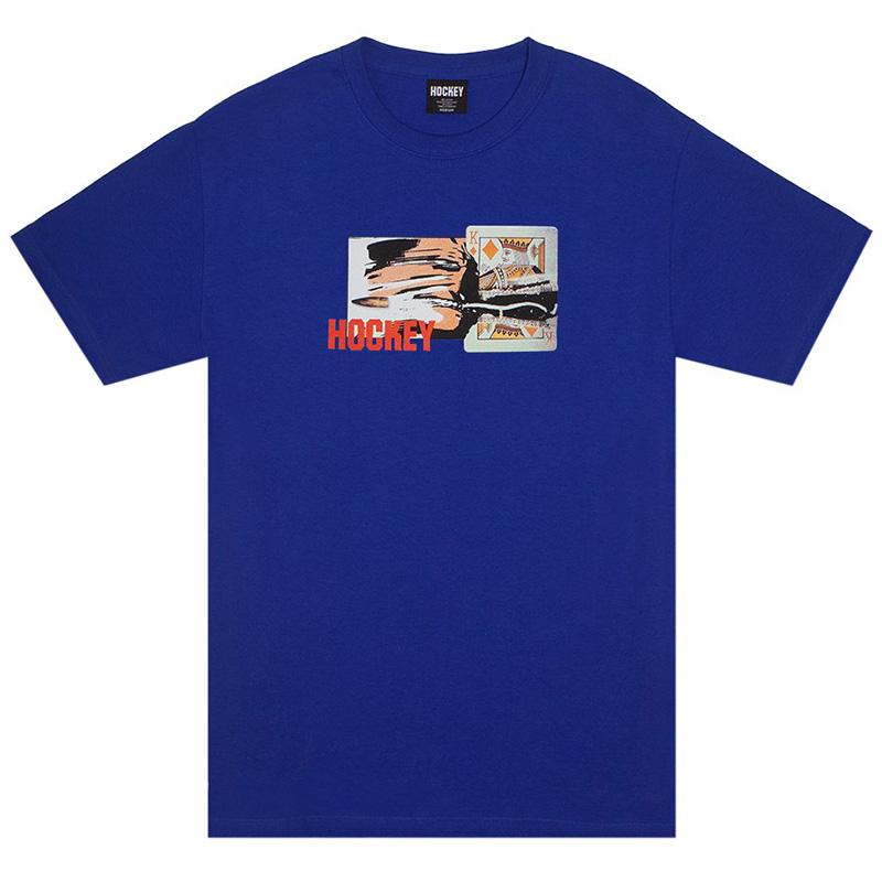 Hockey King Cut T-Shirt Royal