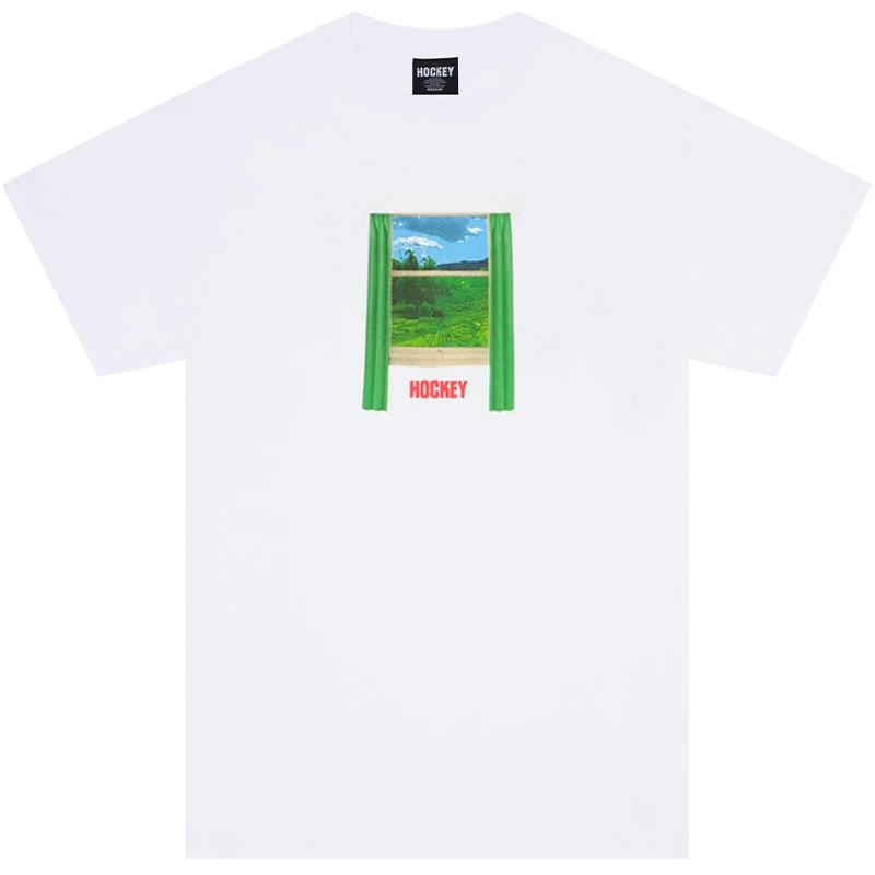 Hockey Looking Glass T-Shirt White