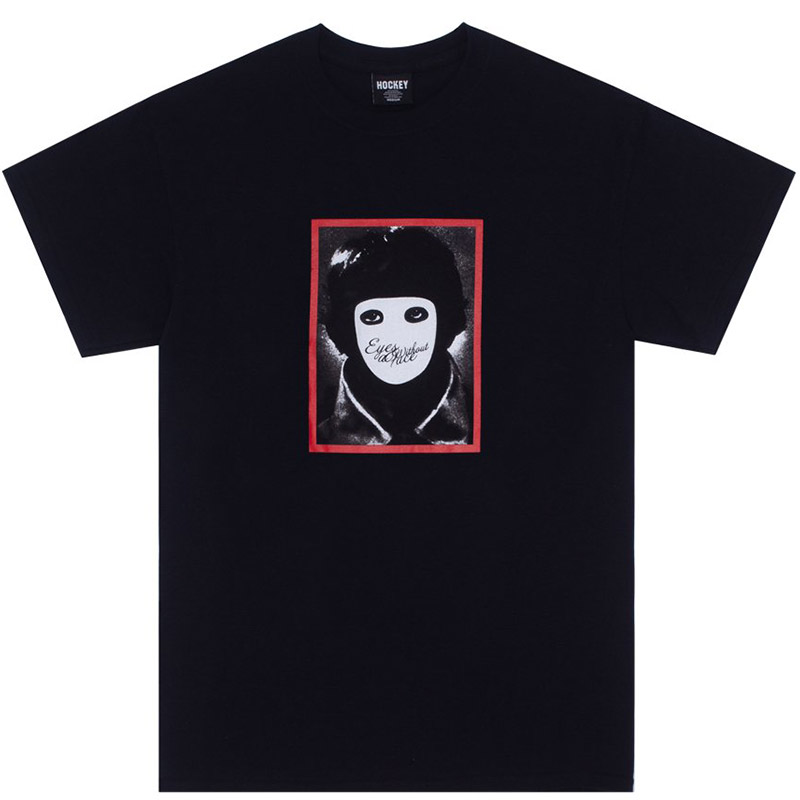 Hockey No Face T-Shirt Black