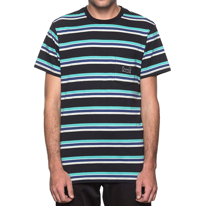 HUF 1993 Stripe T-shirt Black
