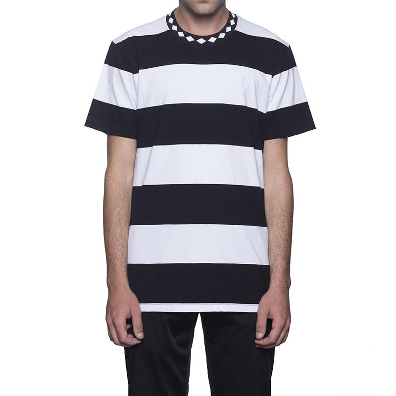 HUF Ace Stripe T-Shirt Black
