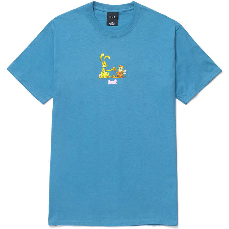 HUF Best Friends T-Shirt Columbia Blue