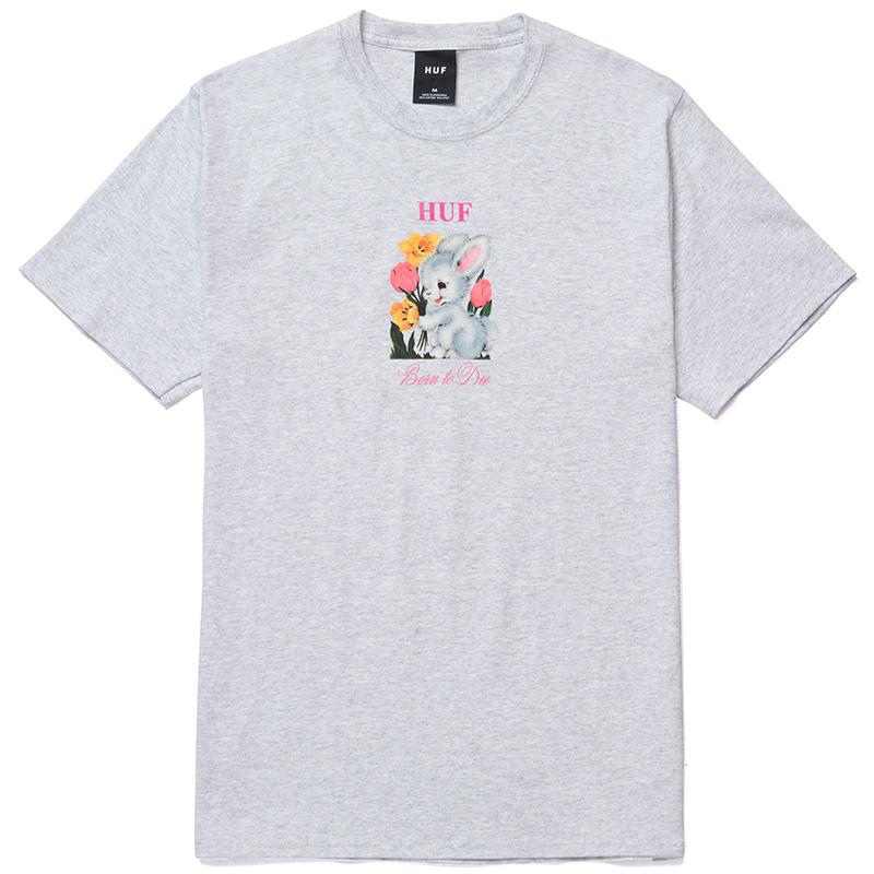 HUF Born To Die T-Shirt Ash