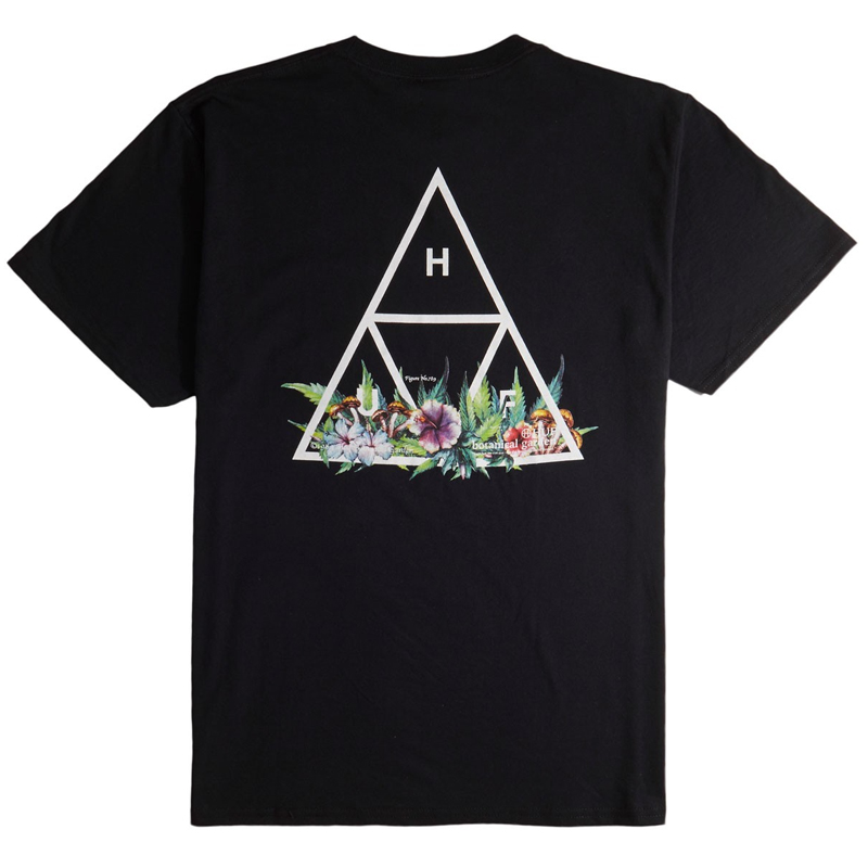 HUF Botanical Garden Tt T-Shirt Black