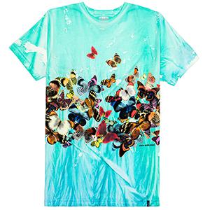 HUF Butterfly Effect Tiedye T-shirt Blue