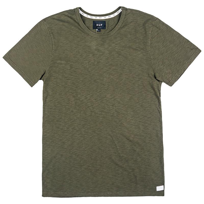 HUF Concrete Garment Dye T-Shirt Military