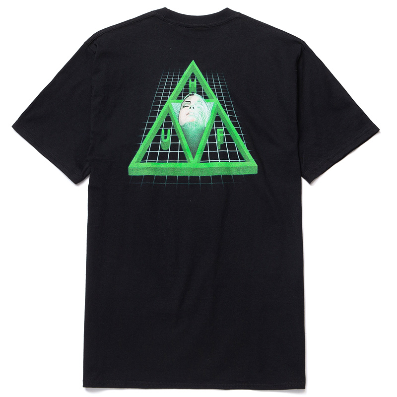 HUF Digital Dream Tt T-Shirt Black