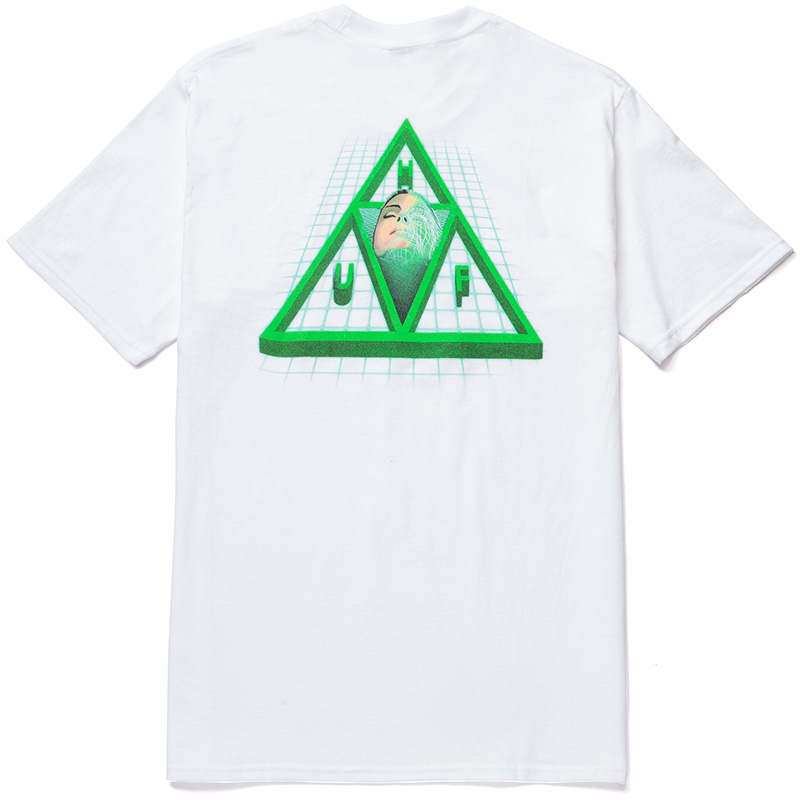HUF Digital Dream Tt T-Shirt White