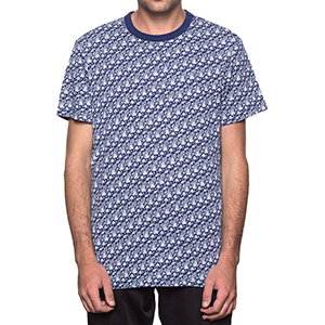 HUF Don't Drip T-shirt Twilight Blue