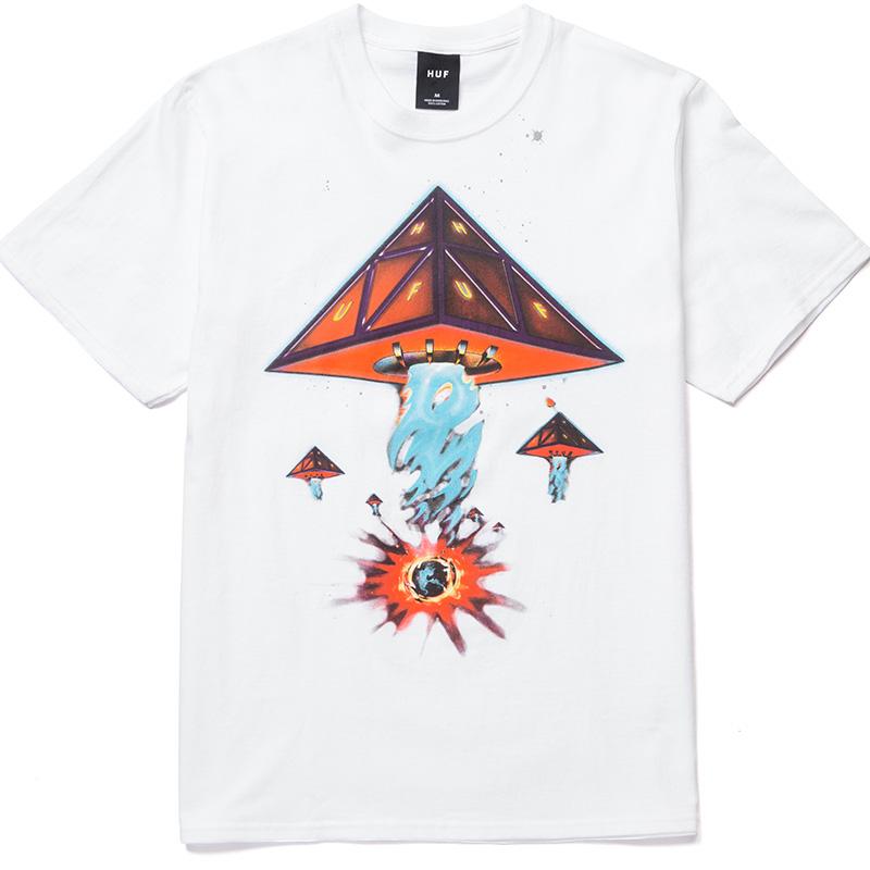 HUF Doomsday Tt T-Shirt White