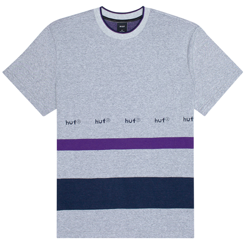 HUF Ellis Yds Knit Top T-Shirt Grey Heather