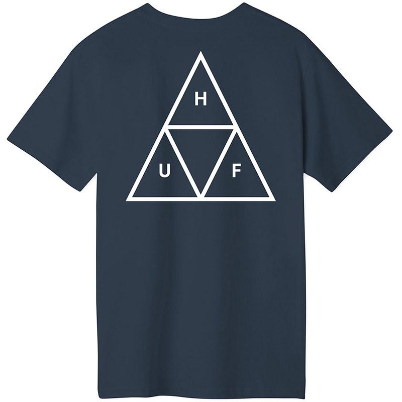 HUF Essentials Tt T-Shirt Navy
