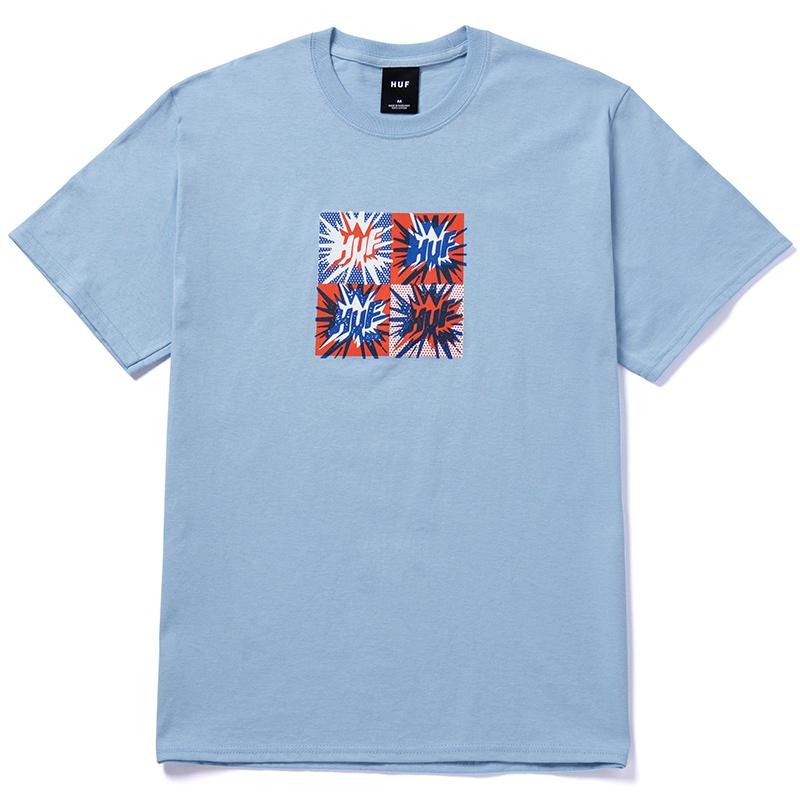 HUF Firecracker T-Shirt Light Blue