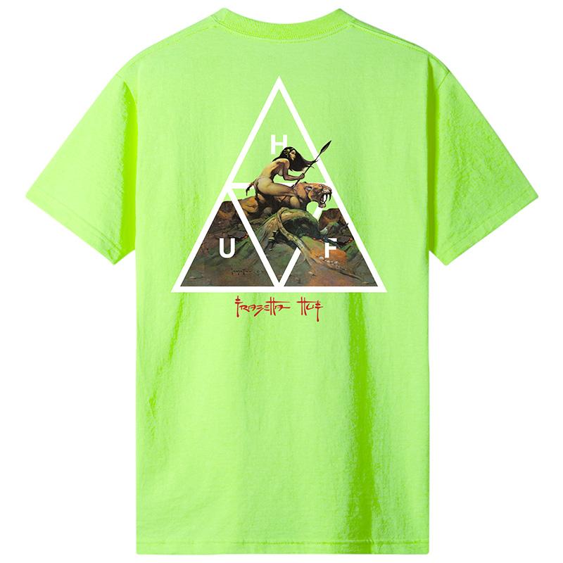 HUF FrazeTTa Cavewoman T-Shirt Lime