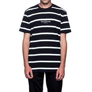 HUF Golden Gate Stripe T-shirt Black