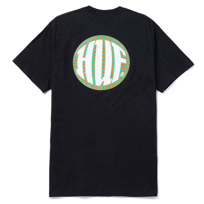 HUF Hi-Fi T-Shirt Black