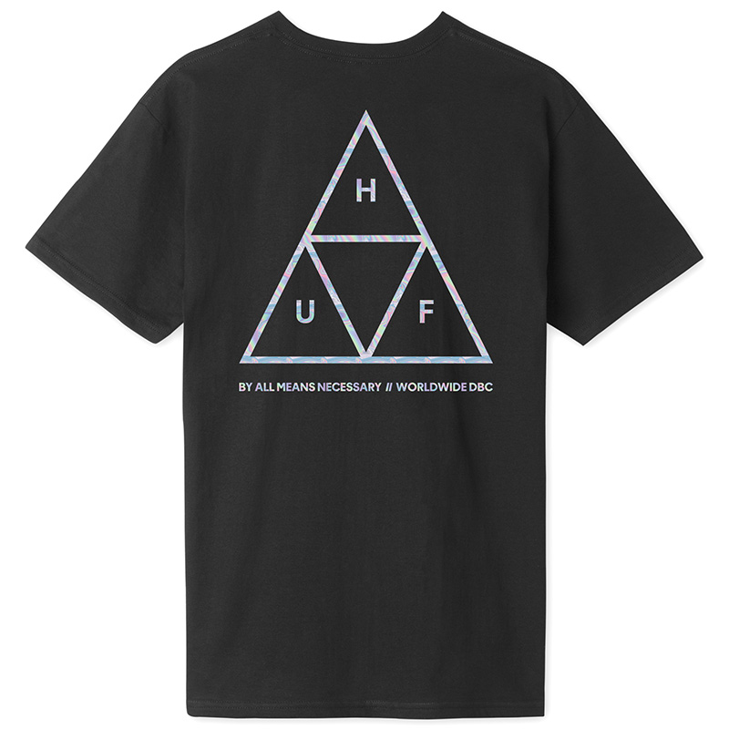 HUF Hologram T-Shirt Black