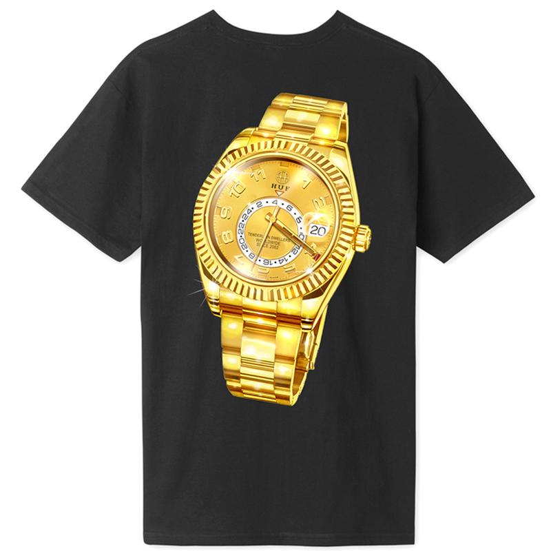 HUF Hufex T-Shirt Black