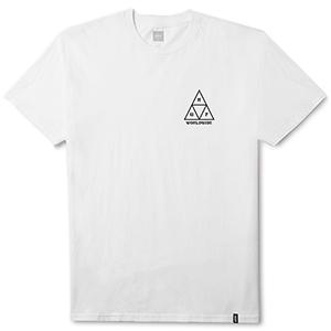 HUF Ice Rose Triangle T-Shirt White