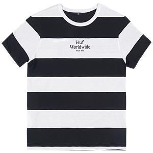 HUF Invert Reversible T-Shirt Black