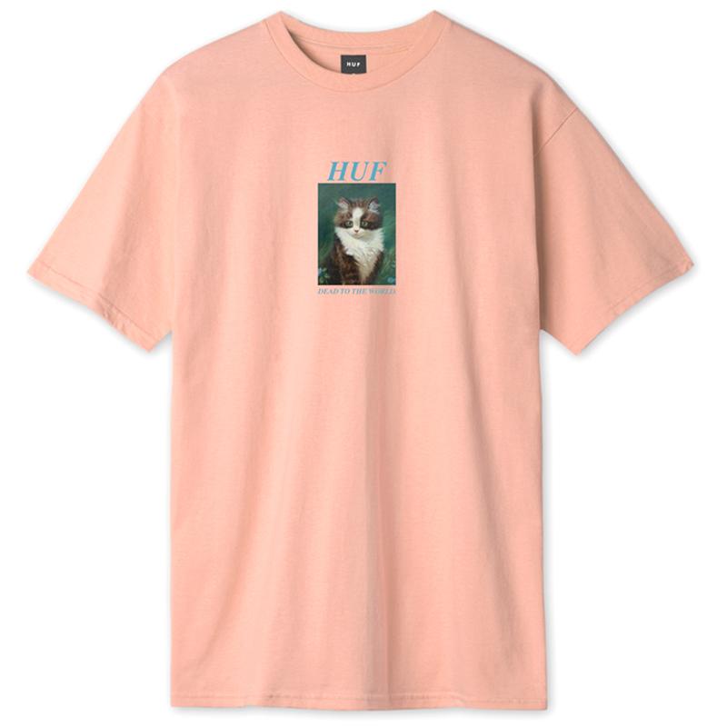 HUF Lost T-Shirt Coral Pink