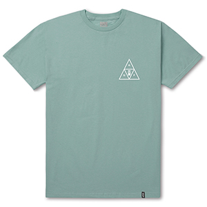 HUF Memorial Triangle T-Shirt Cloud Blue