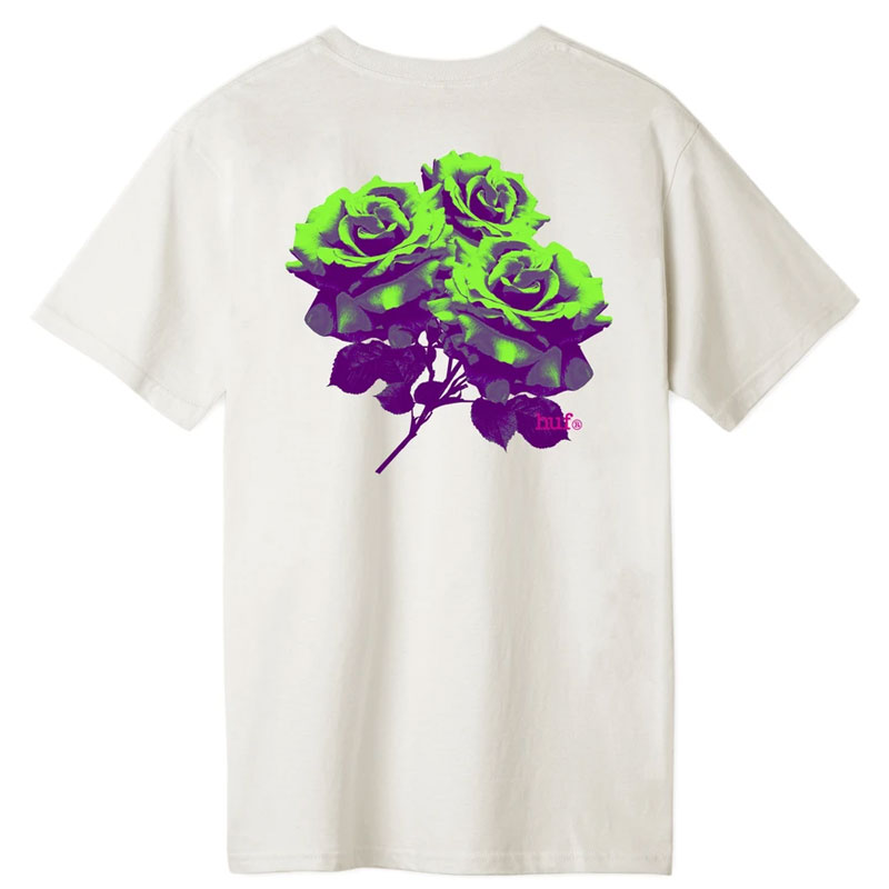 HUF Neu Rose T-shirt Unbleached