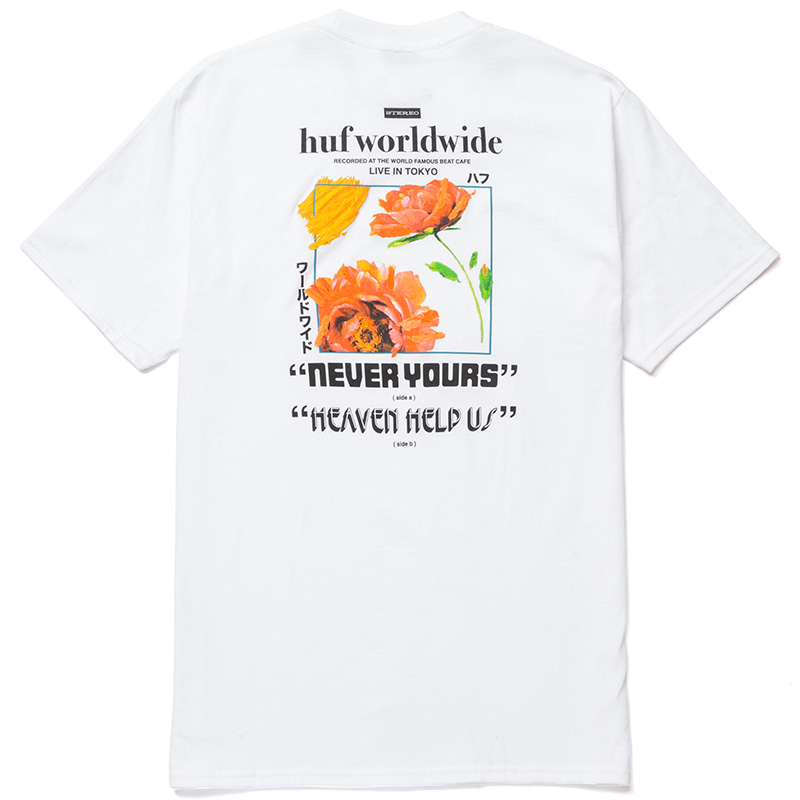 HUF Never Yours T-Shirt White