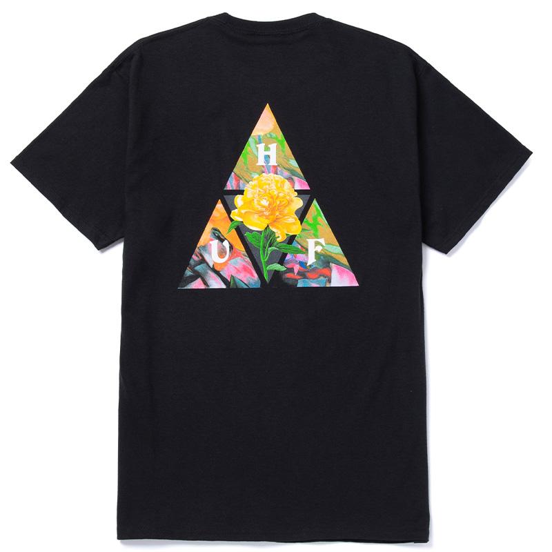 HUF New Dawn Tt T-Shirt Black