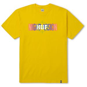 HUF Night Vision T-Shirt Yellow