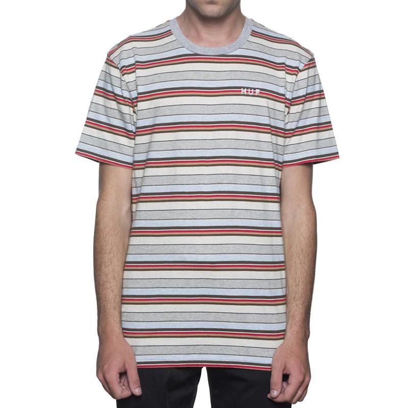 HUF Off Shore Stripe T-shirt Sky Blue