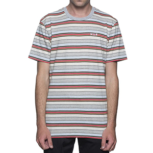 HUF Off Shore Stripe T-shirt Sky Blue