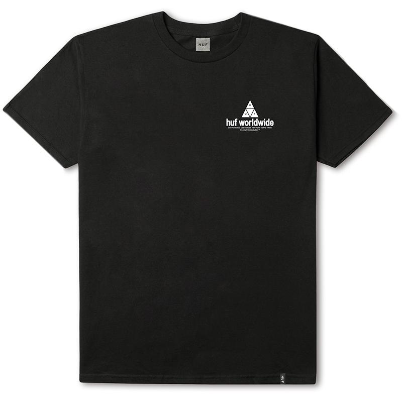 HUF Peak T-shirt Black
