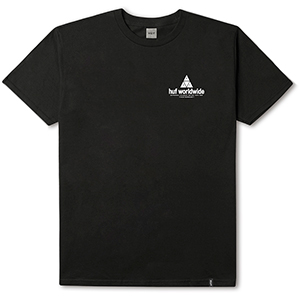 HUF Peak T-shirt Black