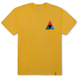 HUF Prism Triangle T-Shirt Mineral Yellow