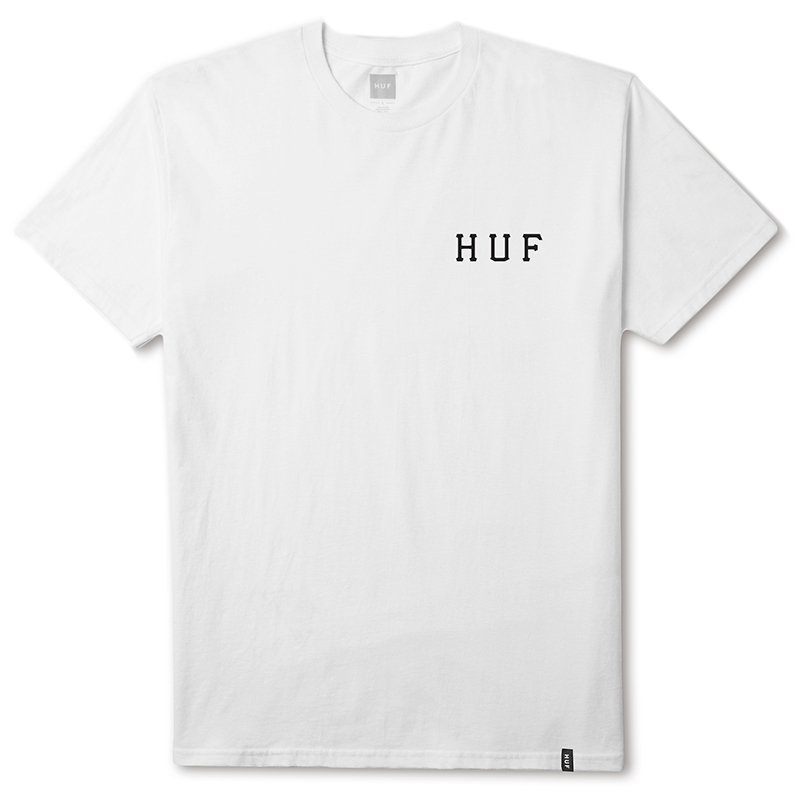 HUF Roses Classic H T-shirt White