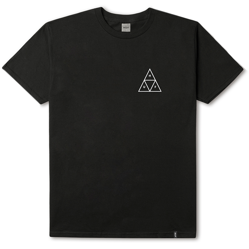 HUF Roses Triple Triangle T-shirt Black