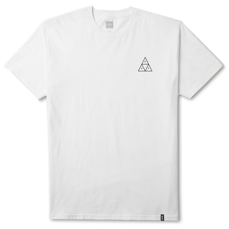 HUF Roses Triple Triangle T-shirt White