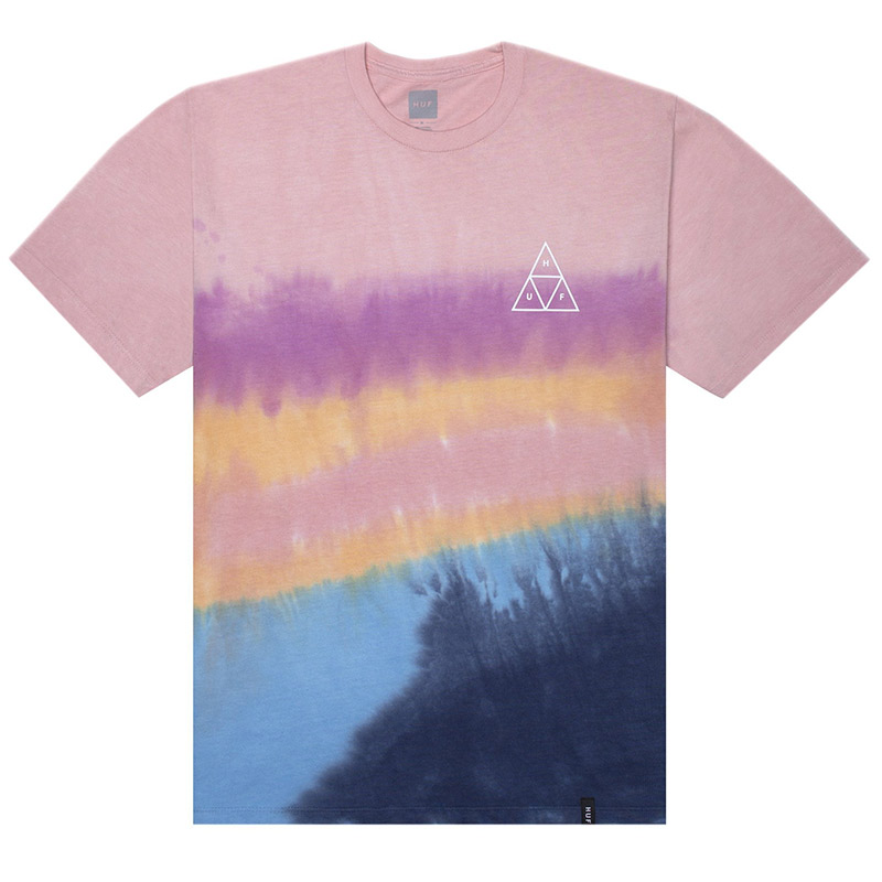 HUF Sky Wash T-Shirt Desert Flower