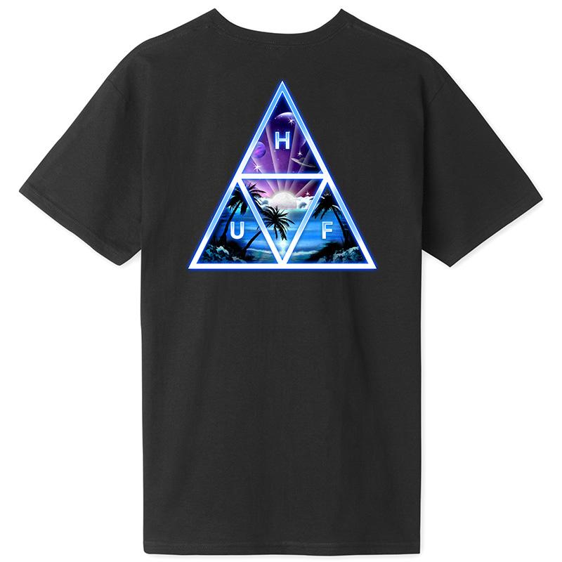 HUF Space Beach TT T-Shirt Black