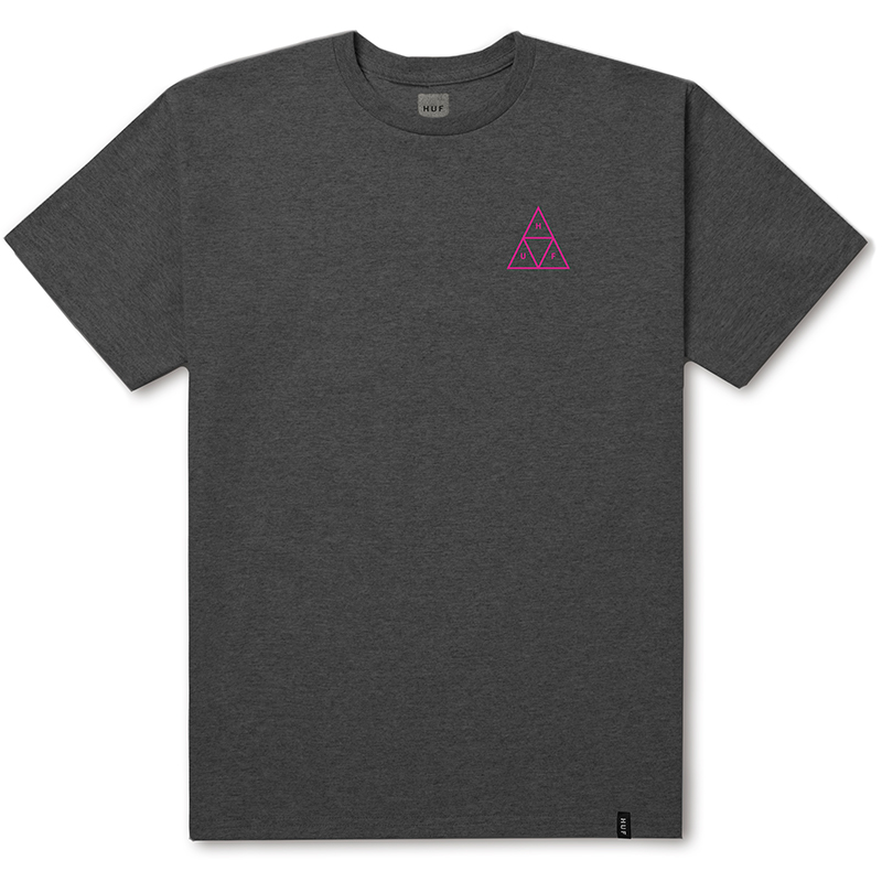 HUF Triple Triangle T-shirt Artic Grey